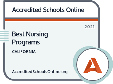 Best Nursing Programs in California badge
