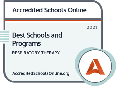 Best Respiratory and Therapy Schools and Programs badge