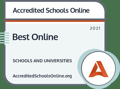 Best Online Colleges and Universities badge