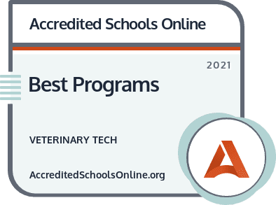Best Veterinary Tech Programs badge