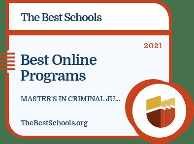 Best Online Programs - Master's in Criminal Justice