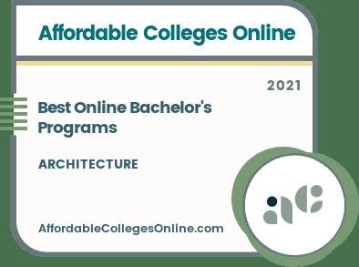Best Online Architecture Bachelor's Degree Programs badge