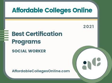 Social Worker Certification Programs badge