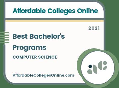 Online Bachelor's Programs in Computer Science Badge