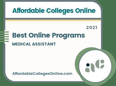 Best Online Medical Assistant Programs Badge