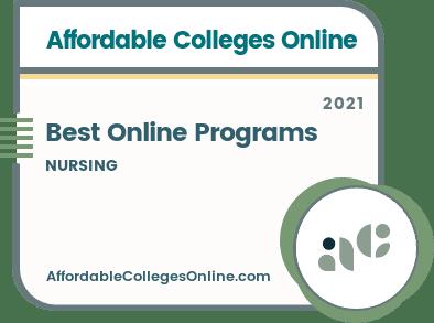 Best Online Nursing Programs badge