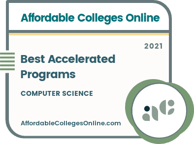 Best Accelerated Computer Science Programs badge