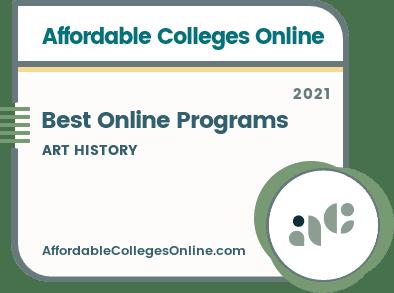 Best Online Art History Programs Badge