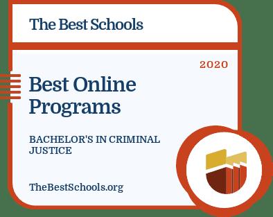 Best Online Programs - Bachelor's in Criminal Justice