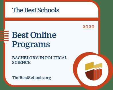 Best Online Programs - Bachelor's in Political Science