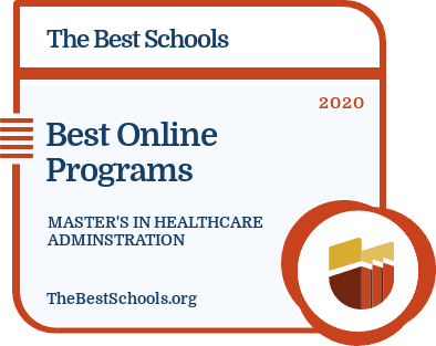 Best Online Programs - Master's in Healthcare Adminstration