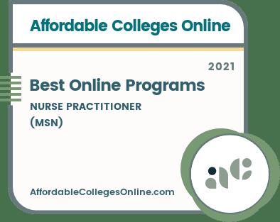 Best Online Nurse Practitioner Programs Badge