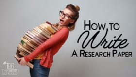 Write research online