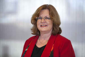 Portrait of Anne Dabrow Woods, DNP, RN, CRNP, ANP-BC, AGACNP-BC, FAAN