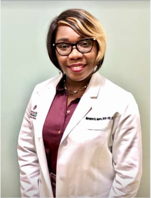Portrait of Dr. Margaret Apara