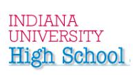 Image of Indiana University High School logo
