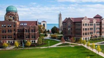 Campus Image: Loyola University Chicago, Loyola Online