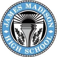 Image du logo de l'école secondaire James Madison