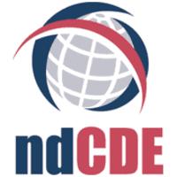 Image du logo du Centre d'éducation à distance du Dakota du Nord