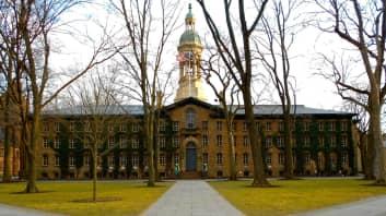 Princeton University, Nassau Hall, Princeton, New Jersey