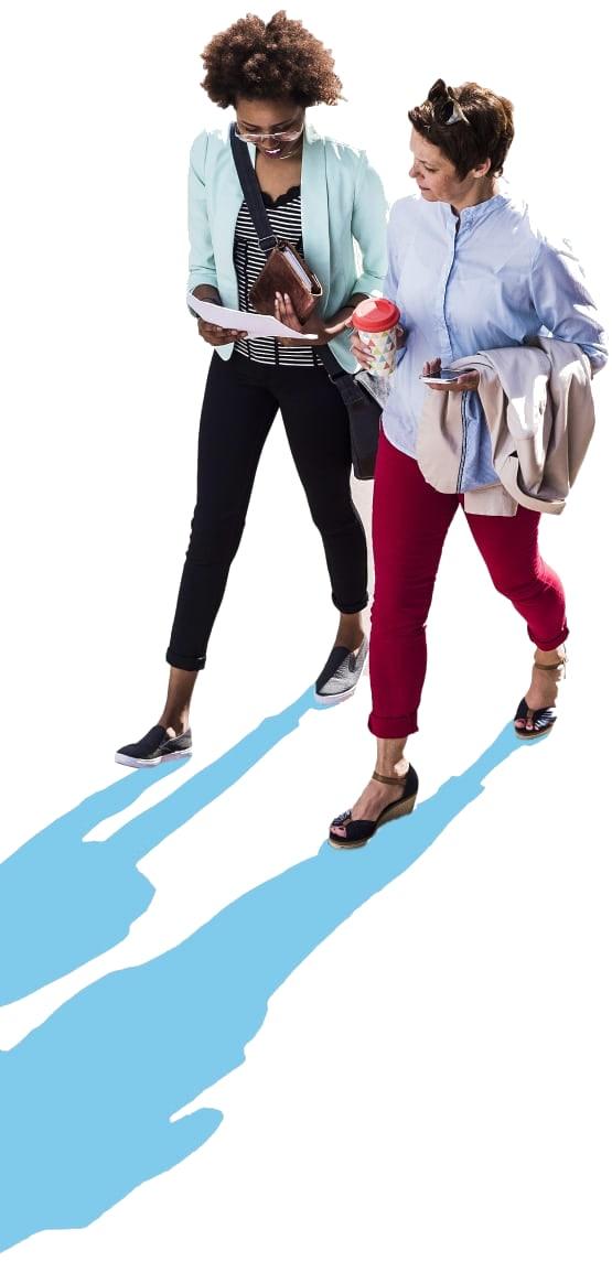 Women Going to Work
