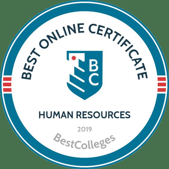 The Best Online Certificate in HR Programs