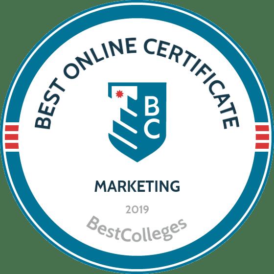 The Best Online Graduate Certificate in Marketing Programs
