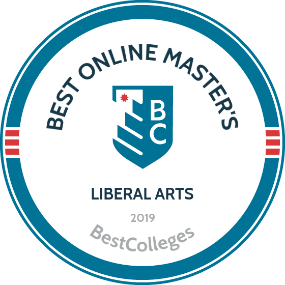 Voted as on of the Best Online Master's in Liberal Arts by 2019 BestColleges