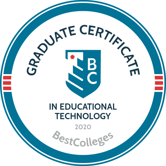 Best Online Graduate Certificate In Educational Technology Programs Of 2020 Bestcolleges