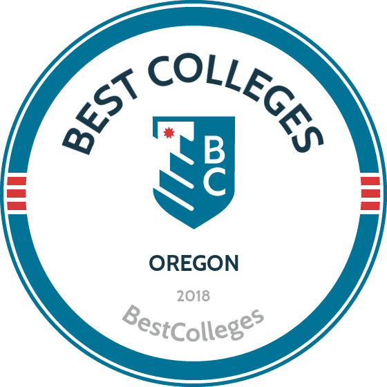 The Best Colleges in Oregon for 2018 | BestColleges.com  Year Public Universities Map Of Oregon on oregon public school districts map, oregon indian casinos map, oregon state universities map,