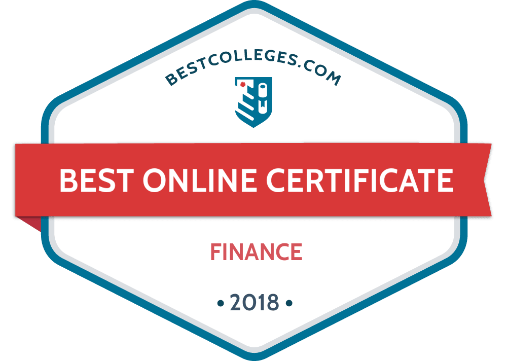 The Best Online Graduate Certificate In Finance Programs Of 2018
