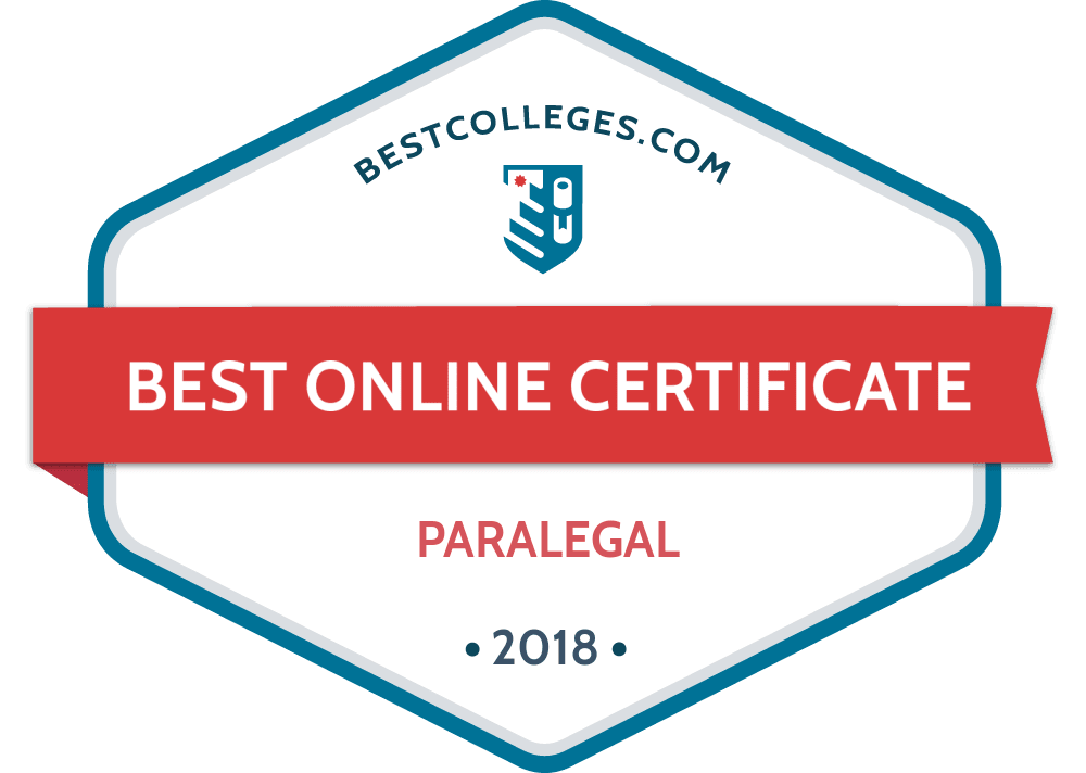 The Best Online Paralegal Graduate Certificate Programs For 2018