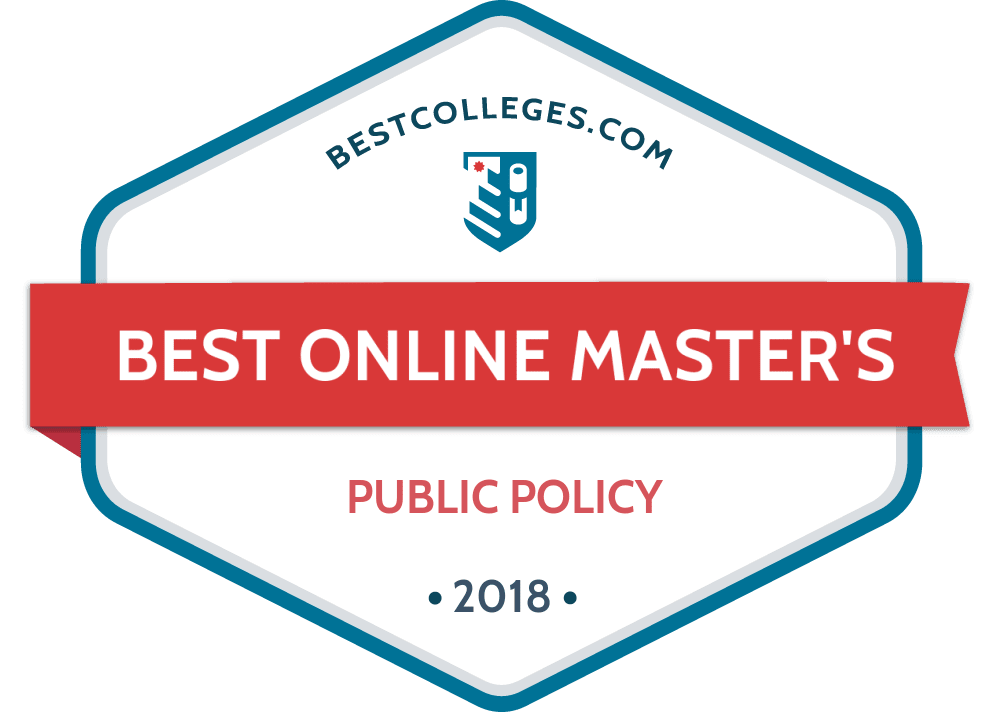 Best Online Masters In Public Policy Programs Of 2018