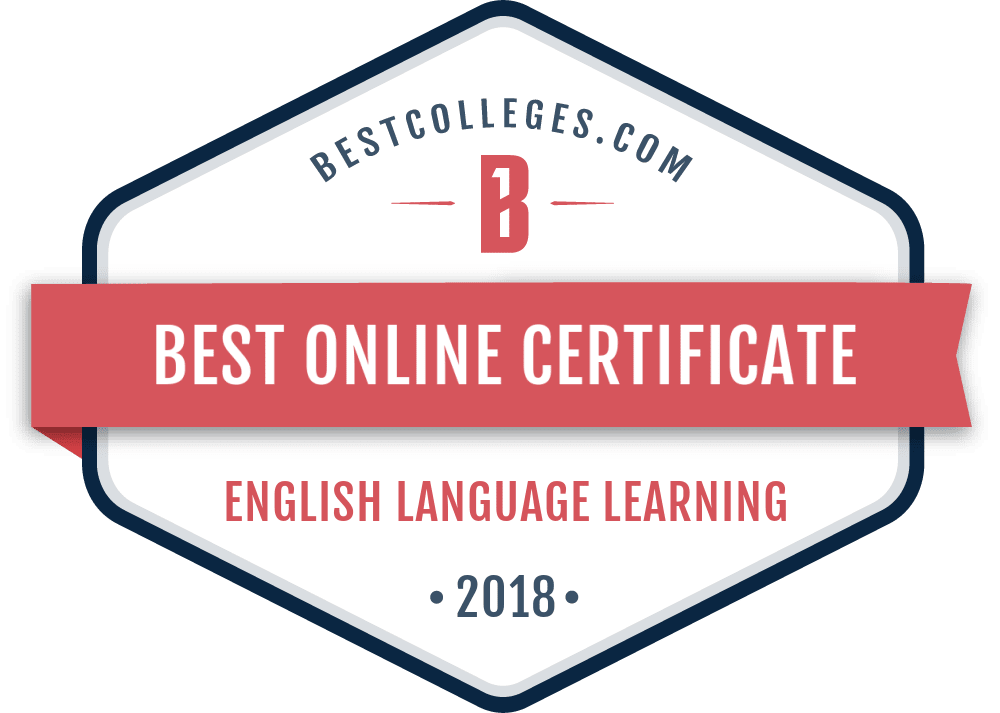 the best online esl certificate programs of 2018 | bestcolleges