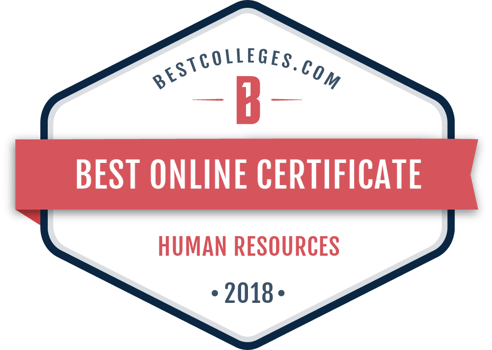 the best online certificate in hr programs of 2018 | bestcolleges.com