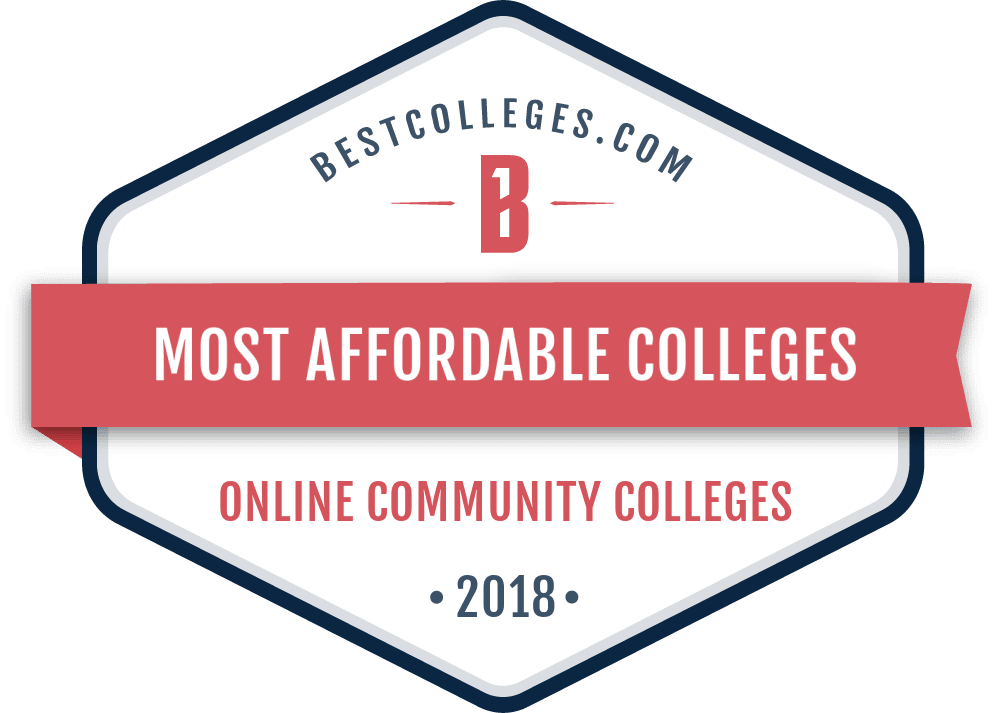 the most affordable online community colleges in 2018