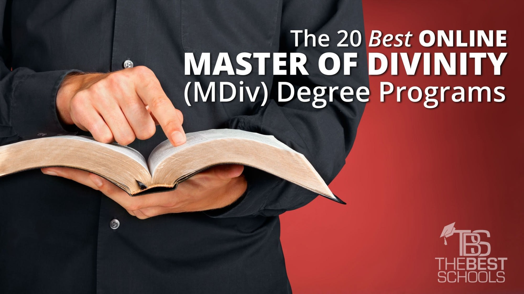 The 20 Best Online Master of Divinity (MDiv) Degree Programs