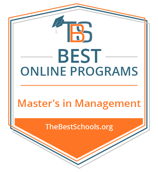 the 50 best online master's in management