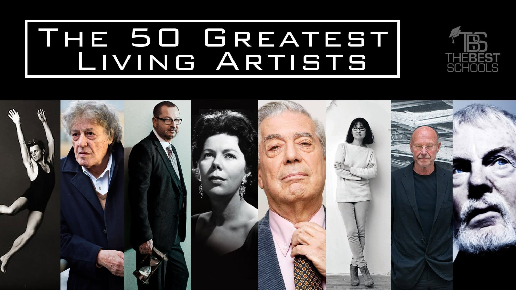 The 50 Greatest Living Artists: Film | TheBestSchools org