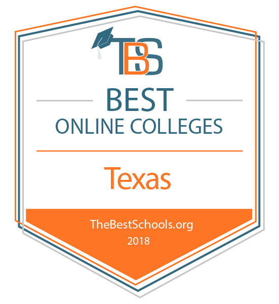 c696a3c8026f Image of Best Online Colleges in Texas badge