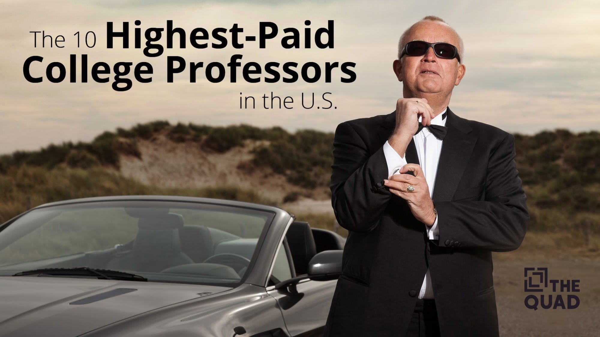 The 10 Highest-Paid College Professors in the U S    The