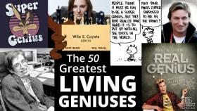 50 Greatest Living Geniuses