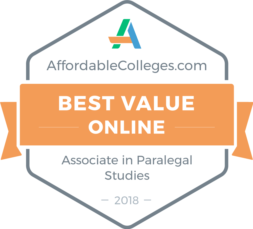 Affordable Online Associate In Paralegal Studies Degrees