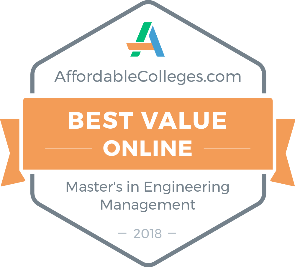 Affordable Online Masters In Engineering Management Programs