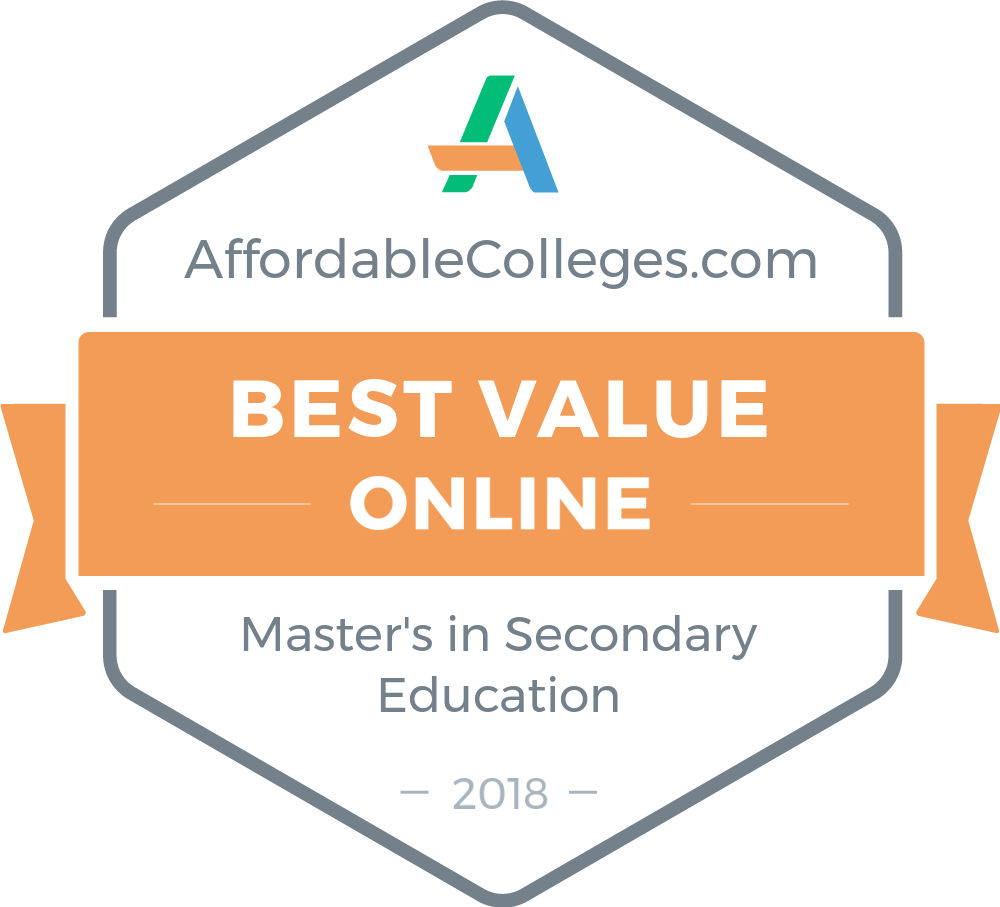 25 Affordable Online Masters In Secondary Education Degrees