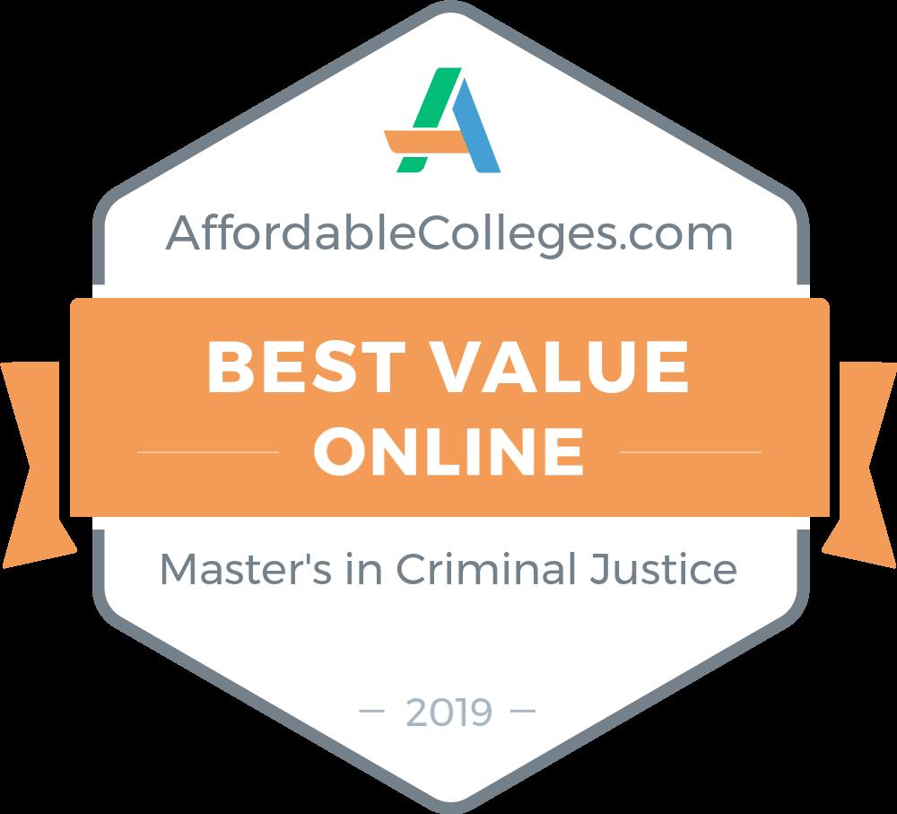 50 Affordable Online Criminal Justice Master's Degrees of 2018