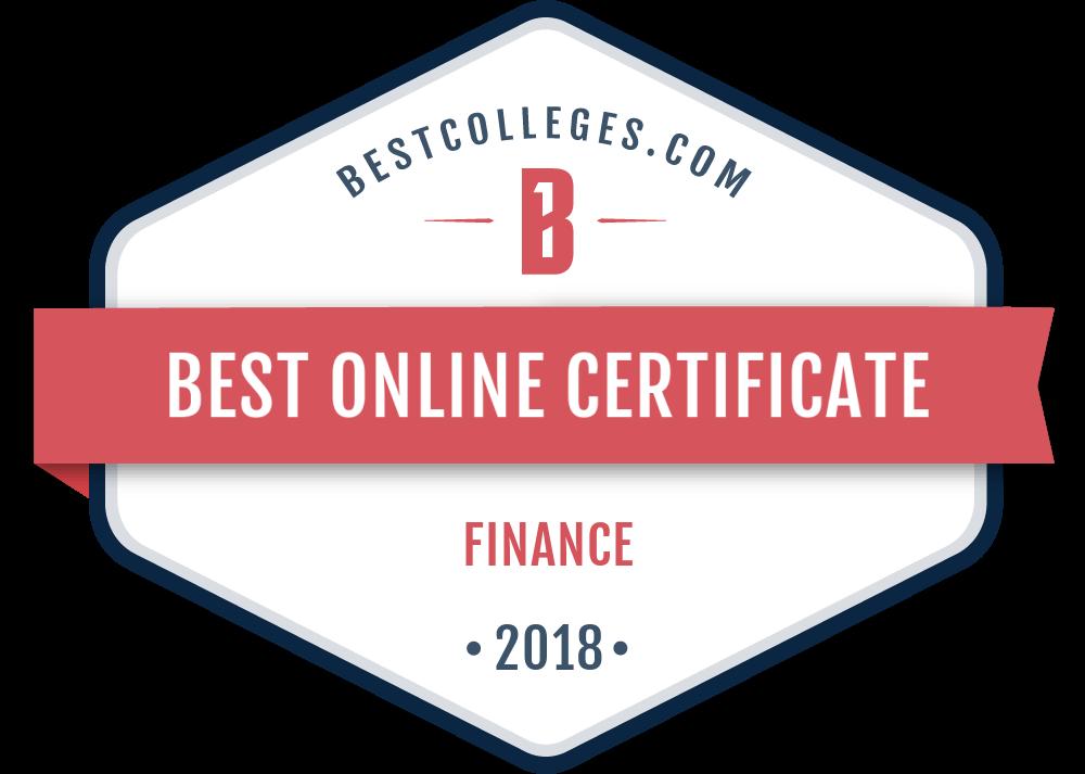 The Best Online Graduate Certificate In Finance Programs Of 2018