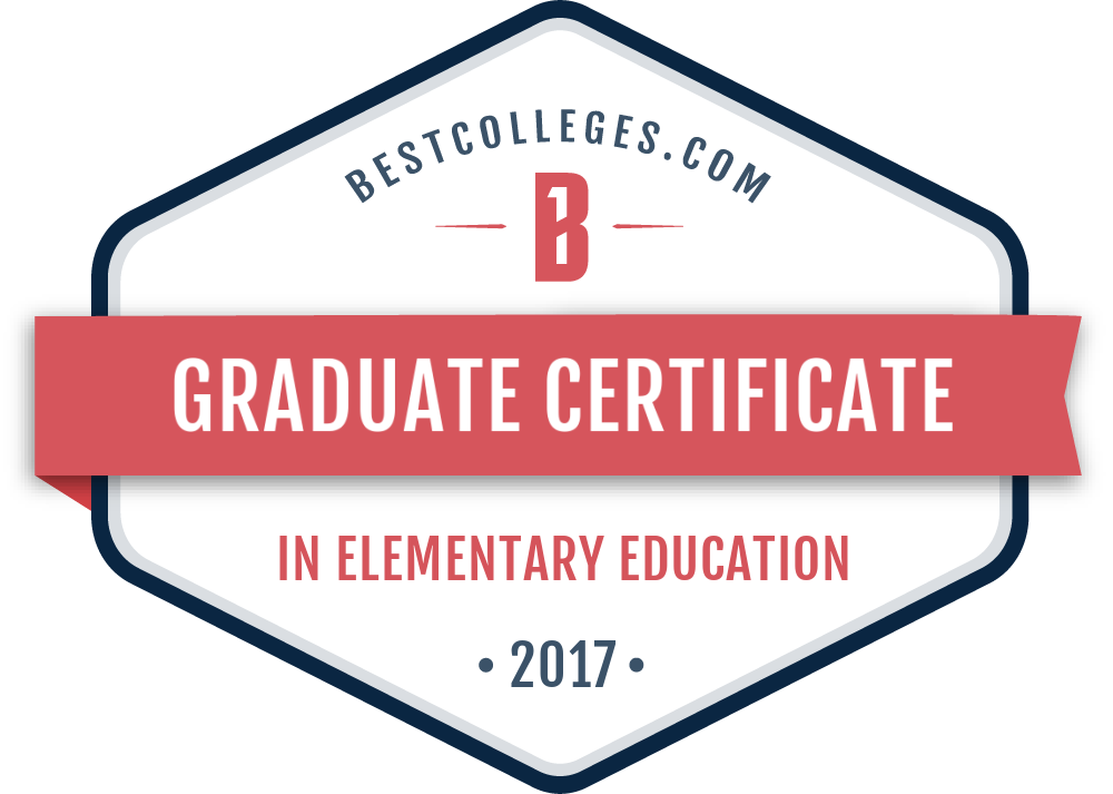 The 5 Best Online Certificate In Elementary Education Programs Of 2017