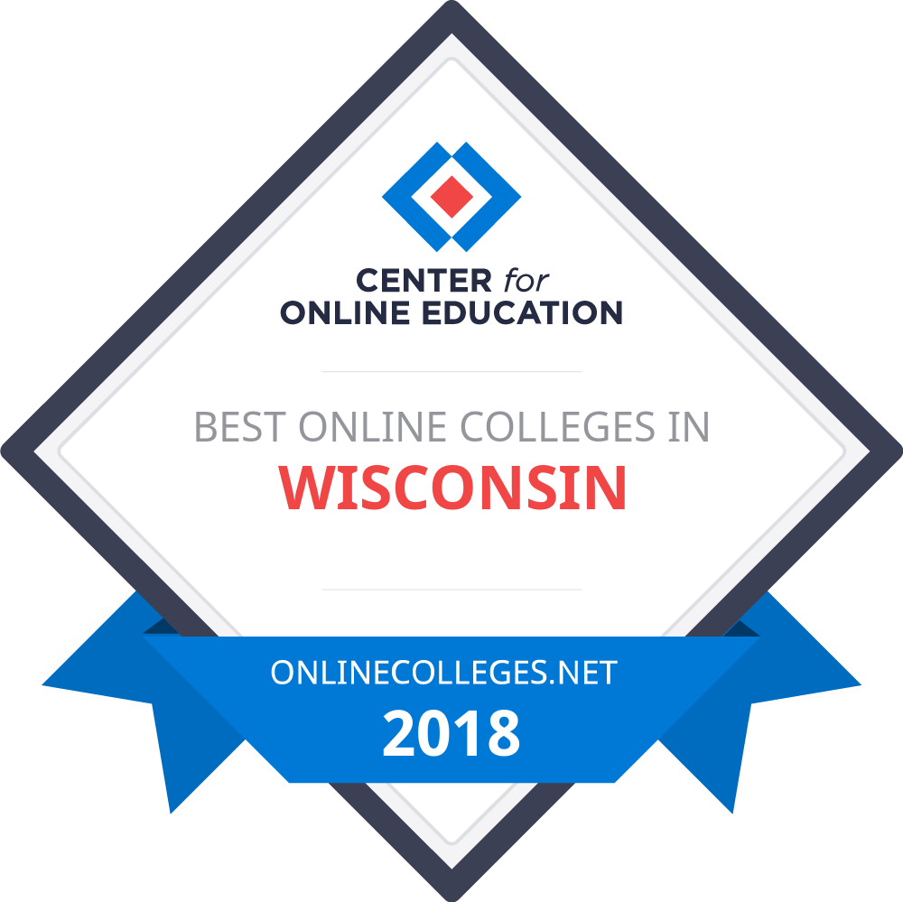 Online colleges in wisconsin the best online schools of 2018 get seal fandeluxe Choice Image