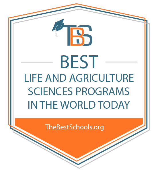 The 50 Best Life & Agriculture Sciences Programs in the